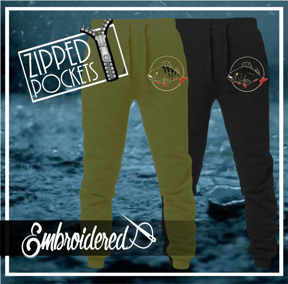 032 EMBROIDERED PERCH JOGGERS